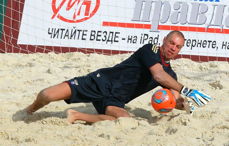 Александр Филимонов в пляжном футболе
