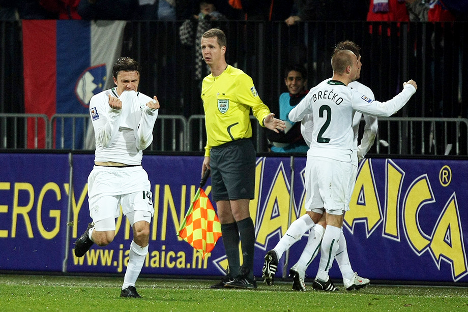 18 ноября 2009 года Россия проиграла в Мариборе Словении и не попала на ЧМ