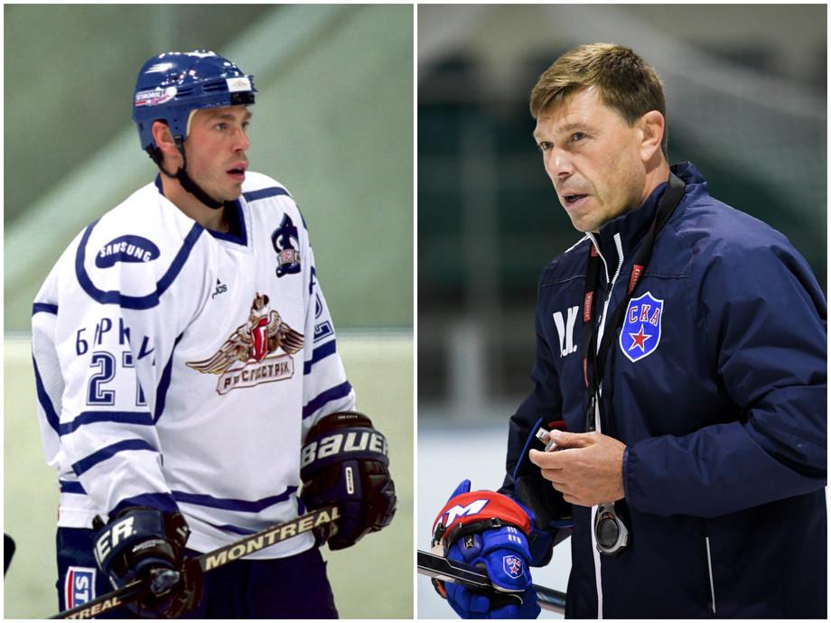 Как выглядели тренеры КХЛ, когда сами были хоккеистами, фото