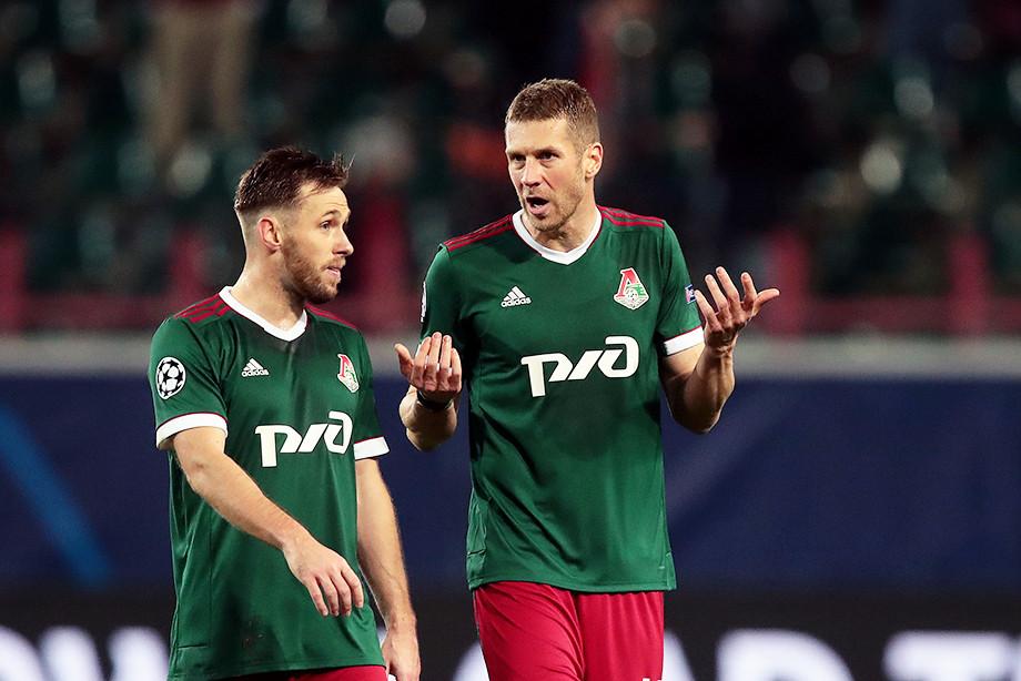 Слободан Райкович (справа) — легенда «Локомотива» Кикнадзе