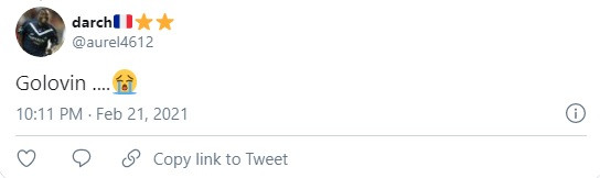 «ПСЖ» – «Монако» — 0:2, 21 февраля 2021, Александр Головин начал матч в запасе, реакция болельщиков в соцсетях