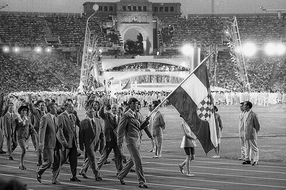 Горан Иванишевич на Олимпиаде-1992