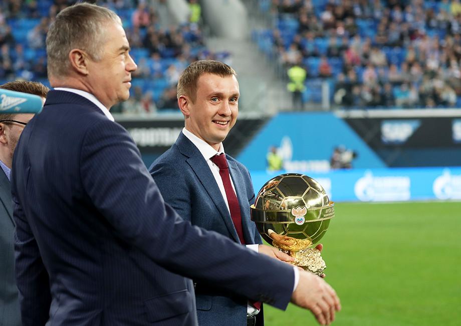 Александр Медведев и Александр Алаев
