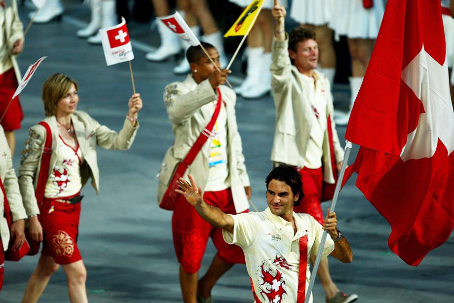 Роджер Федерер на Олимпиаде-2008