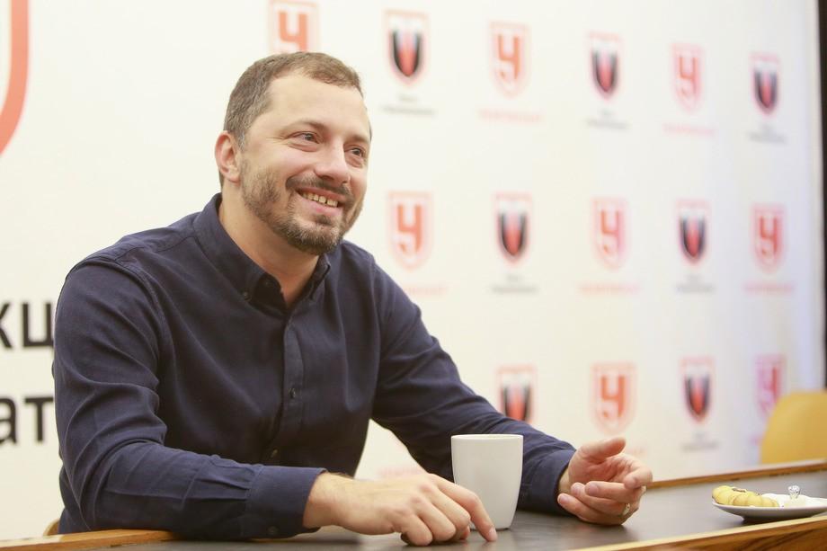 Михаил Прокопец в гостях у «Чемпионата»