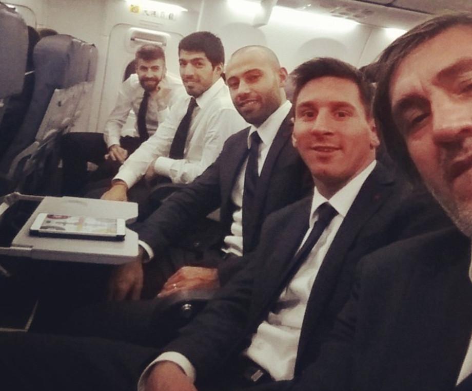 «Барселона» на выезде. Пепе Коста с командой