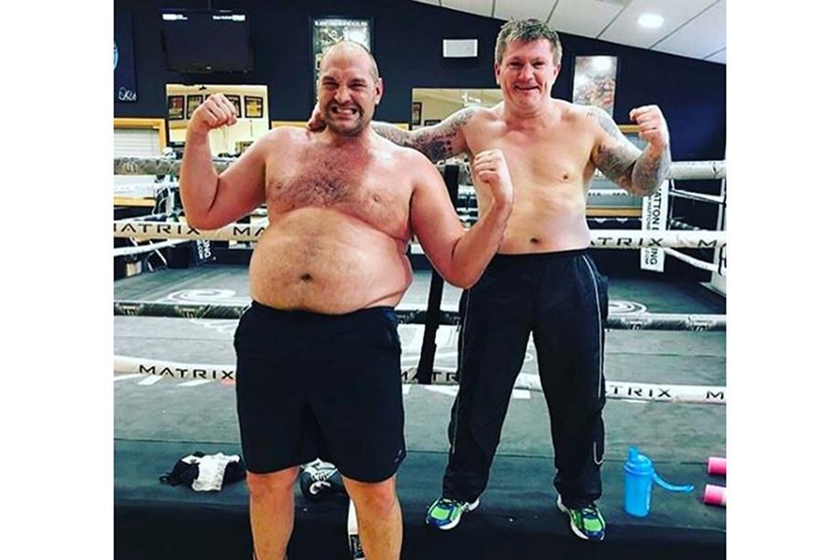 Энди Руис показал, как похудел перед возвращением на ринг, фото