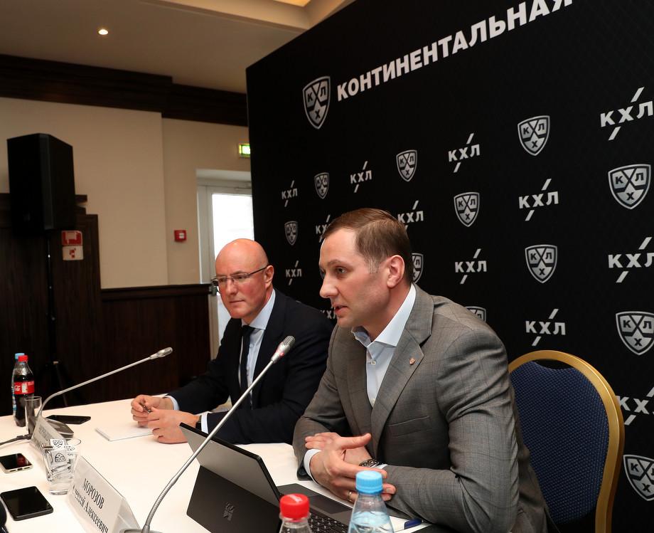 Дмитрий Чернышенко и Алексей Морозов