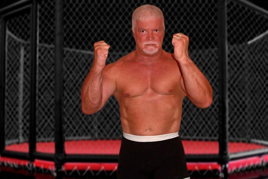 62-летний боец дрался с бывшим чемпионом, что был на 20 кг тяжелее, видео