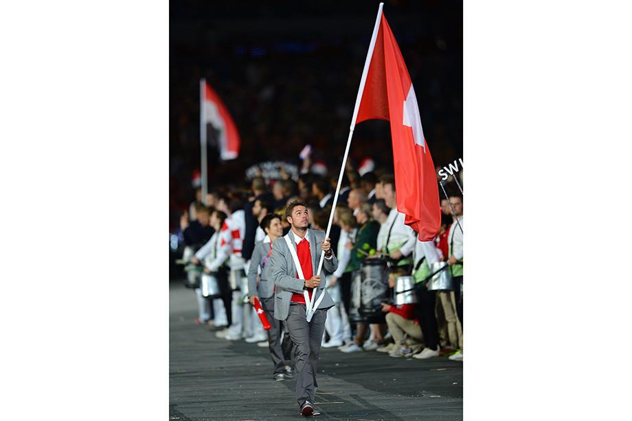 Стэн Вавринка на Олимпиаде-2012