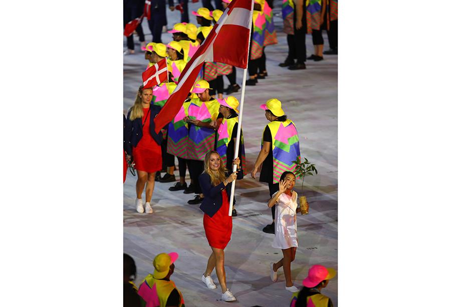 Каролина Возняцки на Олимпиаде-2016