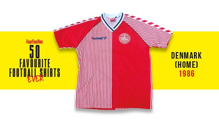 Форма сборной Дании 1986 года
