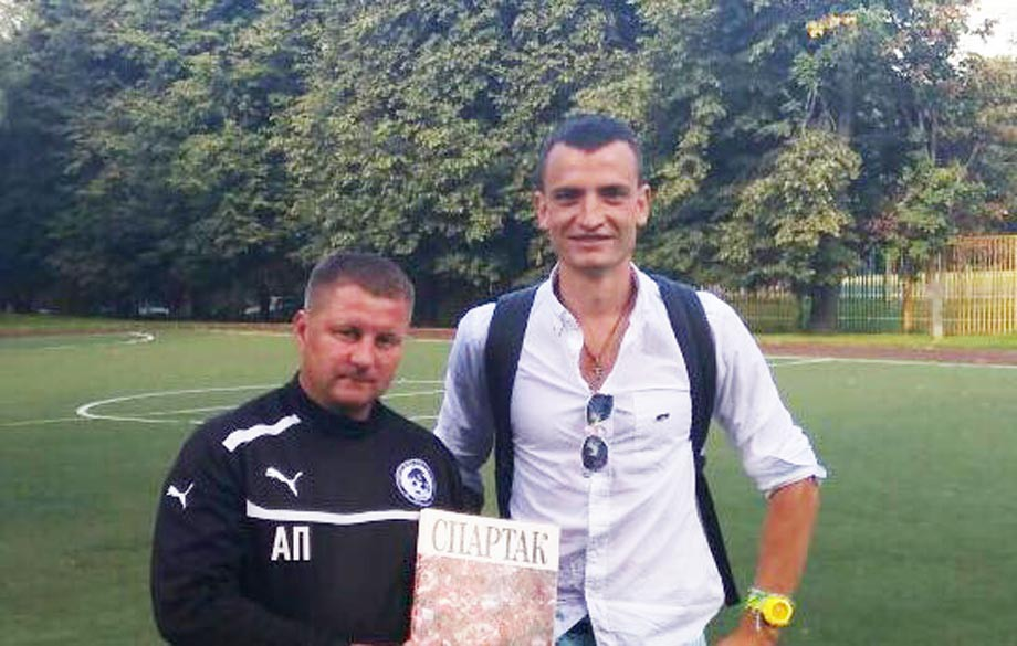 Александр Панов и Дмитрий Егоров