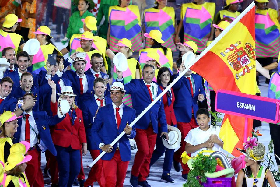 Рафаэль Надаль на Олимпиаде-2016