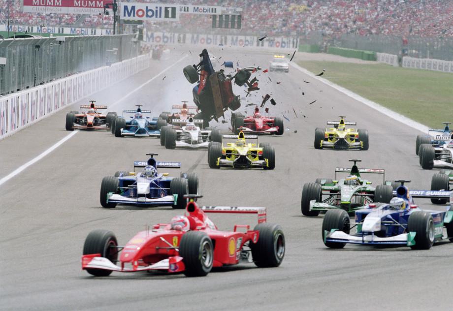 Старт Гран-при Германии — 2001