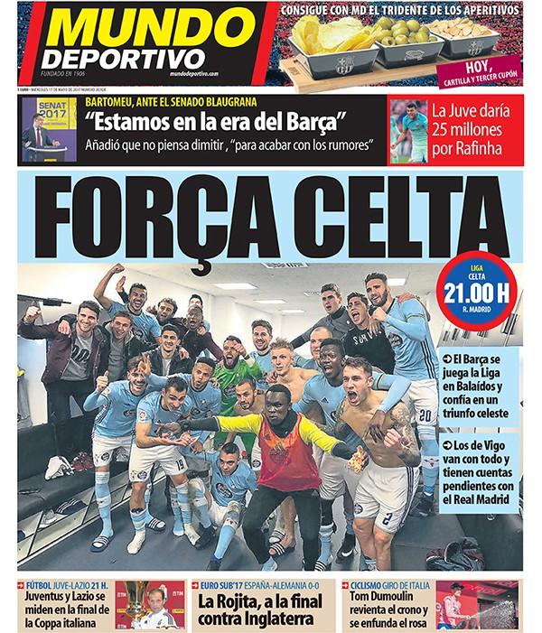 Каталонские СМИ поддержали «Сельту» перед матчем с «Реалом»