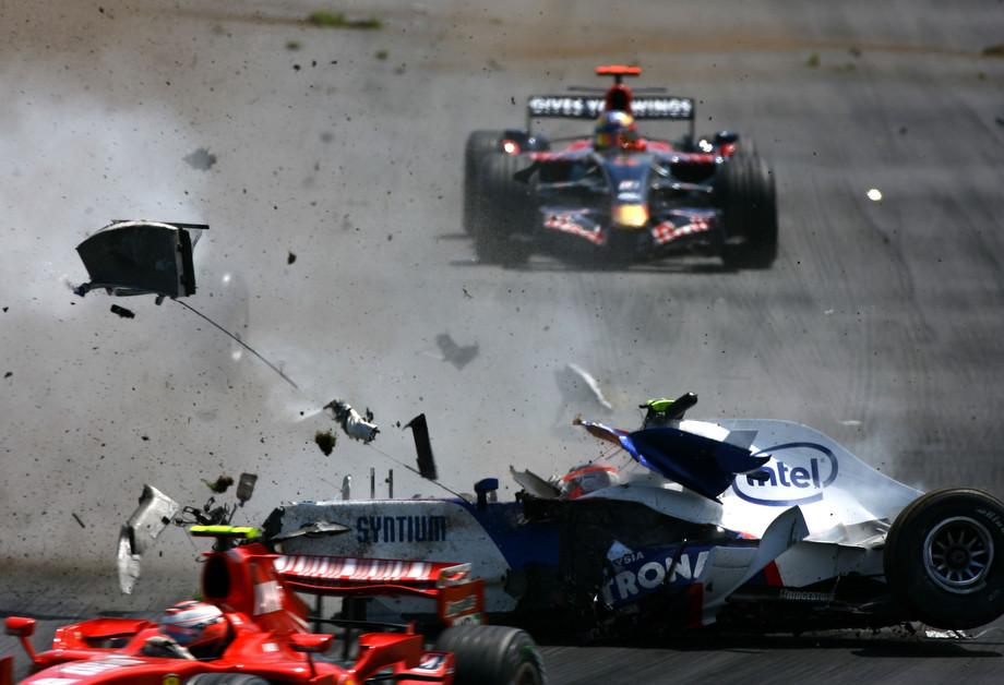 Авария Кубицы на Гран-при Канады — 2007