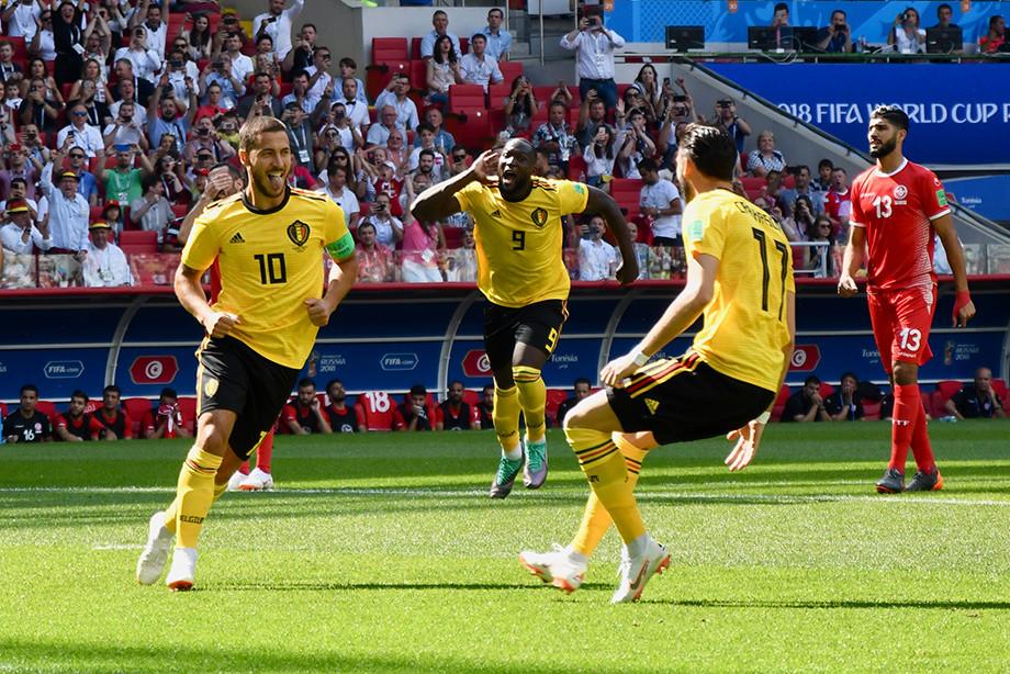 Сборная Бельгии — лидер по количеству голов с игры