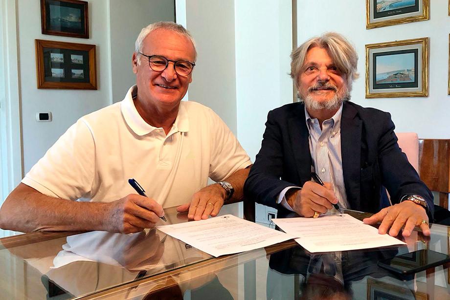 Клаудио Раньери и Массимо Ферреро