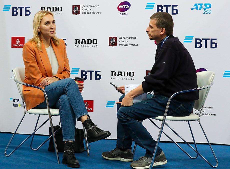 Елена Веснина – о возвращении, новом Кубке Кремля и Дмитрии Турсунове