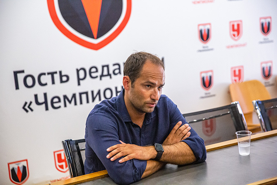 Роман Широков в гостях у «Чемпионата»