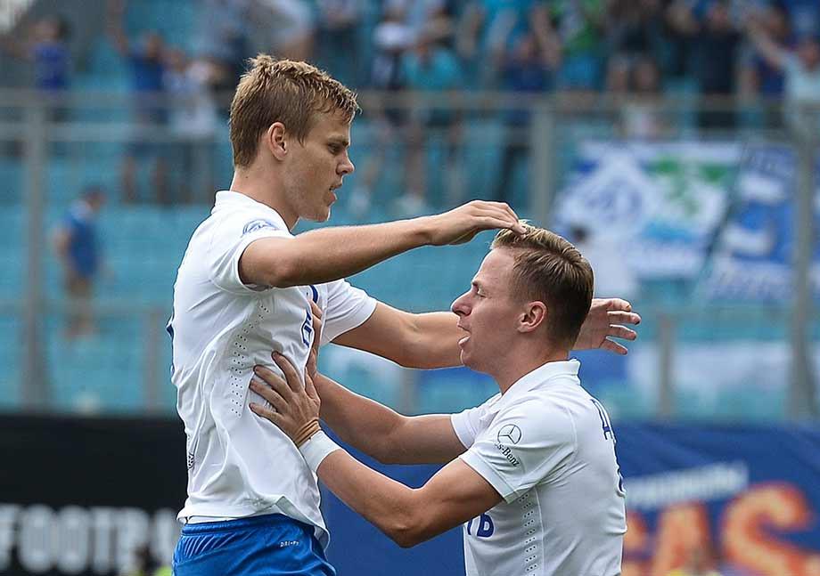 Александр Кокорин и Балаж Джуджак