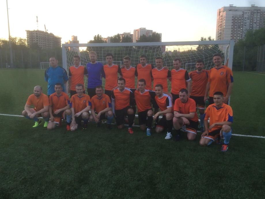 ФК «Чемпионат» одержал победу в первом матче чемпионата Москвы по футболу 6х6