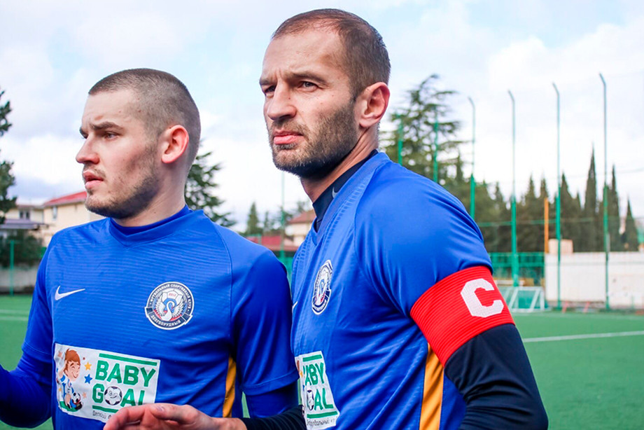 Никита Баженов и Ренат Сабитов играют в «Олимп-Долгопрудный», их команда близка к выходу в ФНЛ