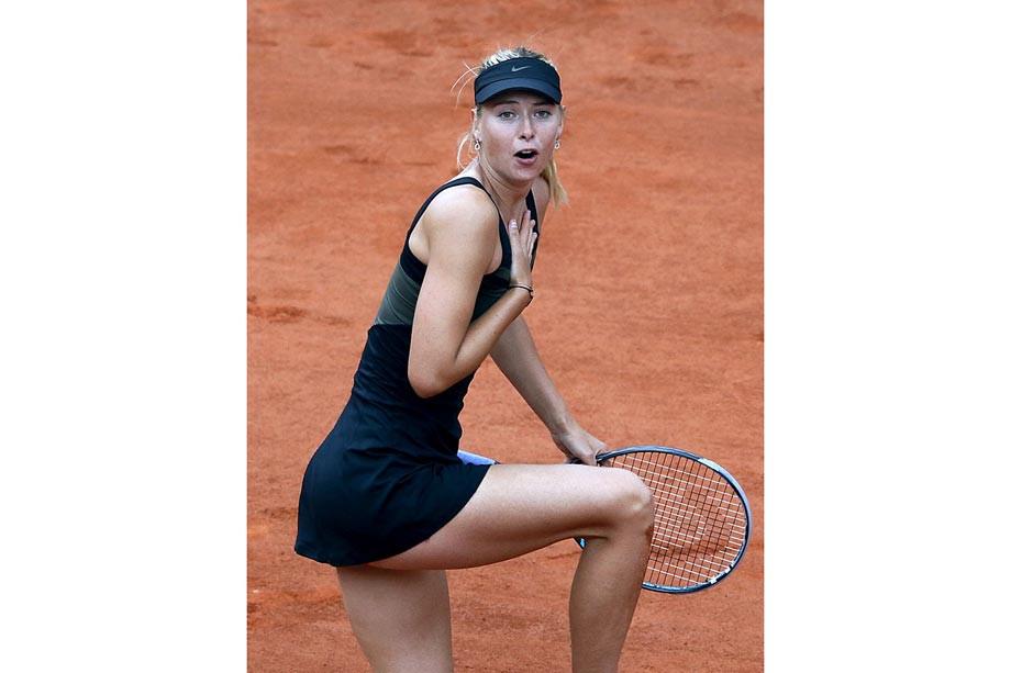 Как выглядела Мария Шарапова во время своего триумфа на «Ролан Гаррос»