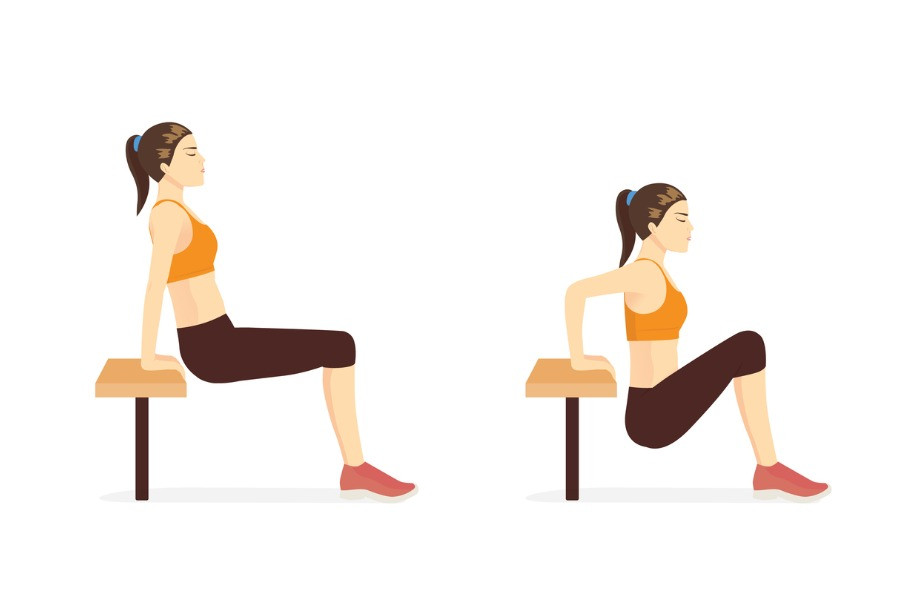 Как тренироваться дома со стулом? Упражнения для тренировки без спортивного инвентаря