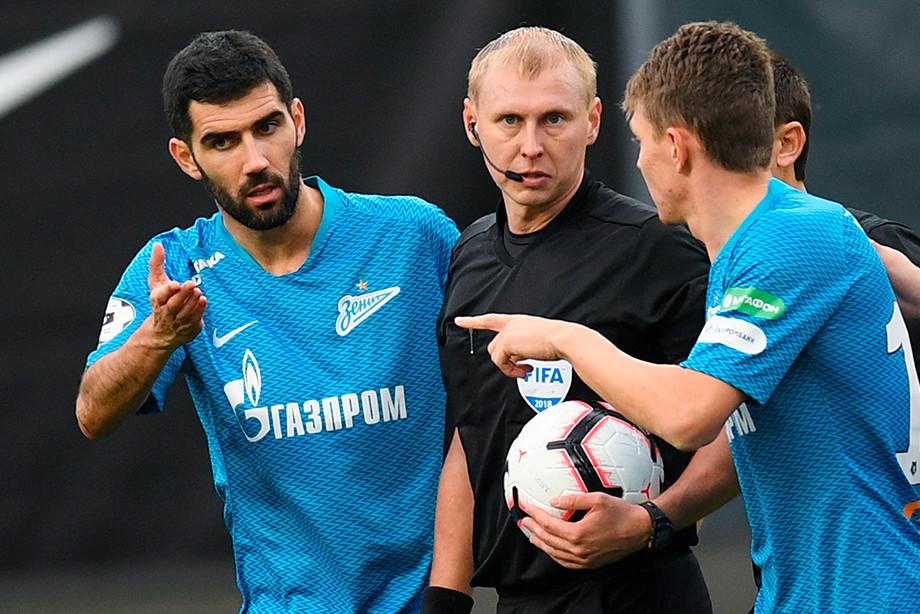 Защитник «Зенита» Луиш Нету