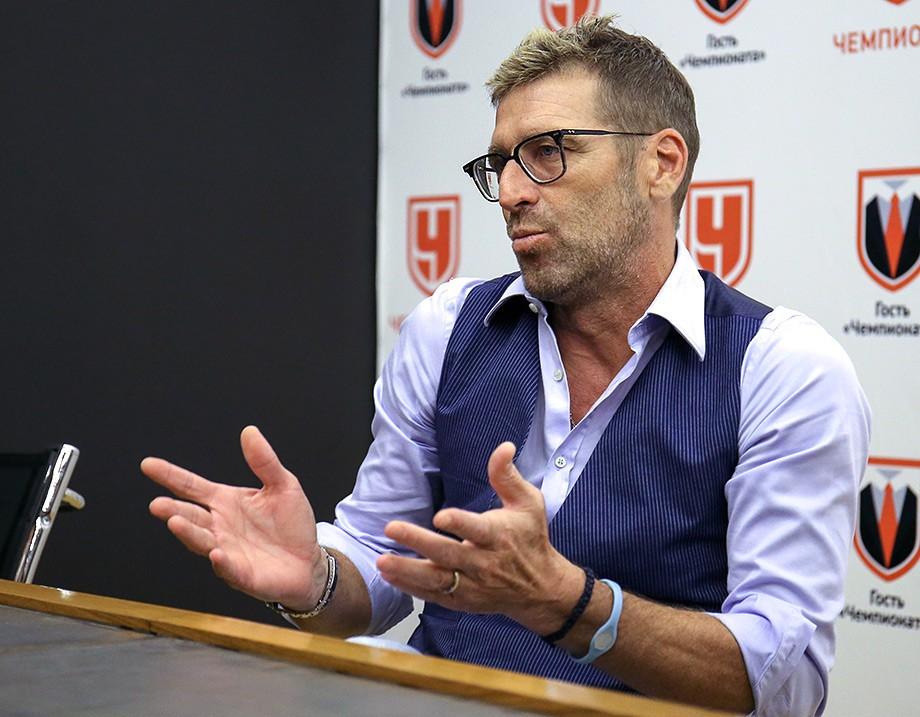 Массимо Каррера в гостях у «Чемпионата»