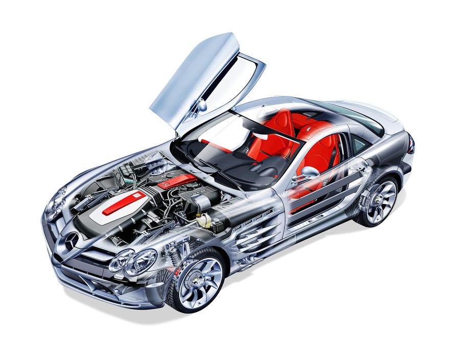 Mercedes-Benz SLR Stirling Moss — суперкар от «Мерседеса», характеристики и фото