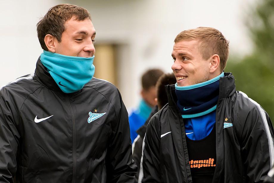 Артём Дзюба и Александр Кокорин