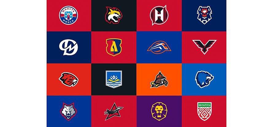 Новые логотипы клубов Экстралиги