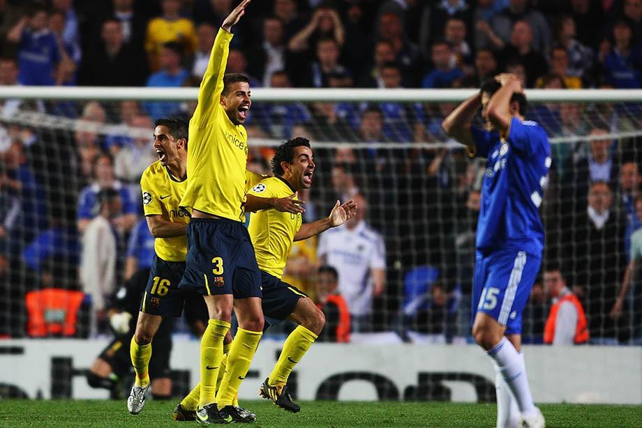 Сезон-2008/09. «Челси» – «Барселона» – 1:1