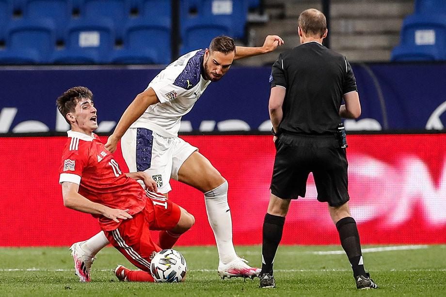 Матч с Сербией