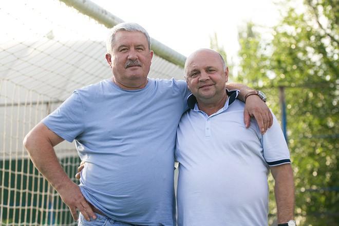 Михаил Пипенко и бывший главный тренер «Ростова» Игорь Гамула