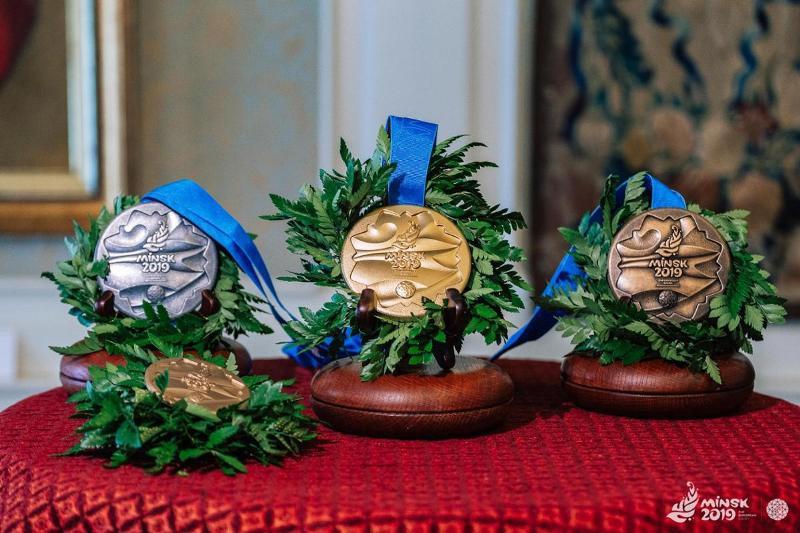 Медали Европейских игр—2019