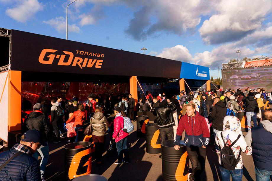 Фан-зона G-Drive Racing на Tsunami Picnic