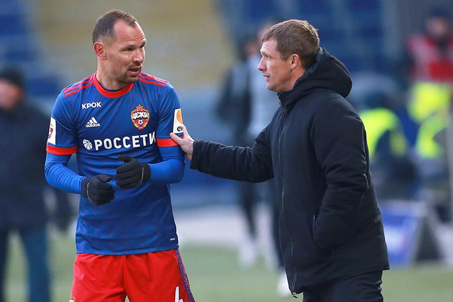 Сергей Игнашевич и Виктор Гончаренко