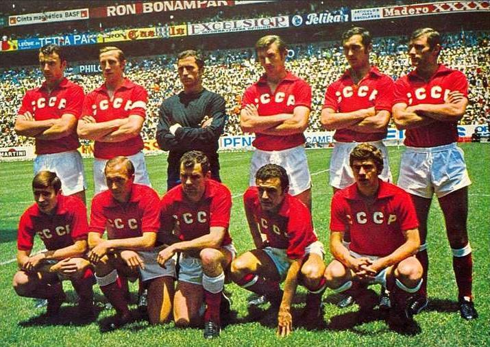 Сборная СССР на ЧМ-1970