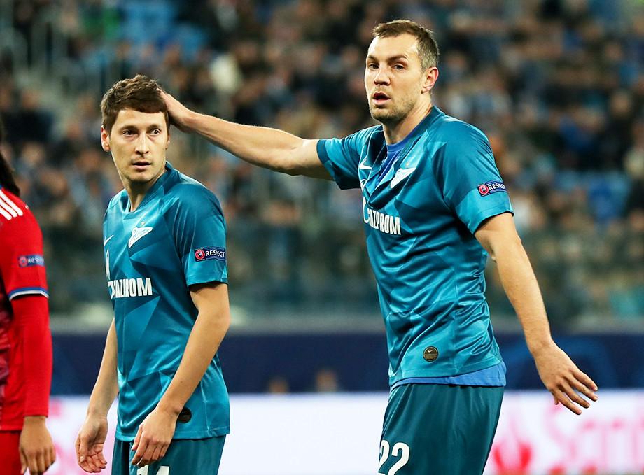Далер Кузяев и Артём Дзюба