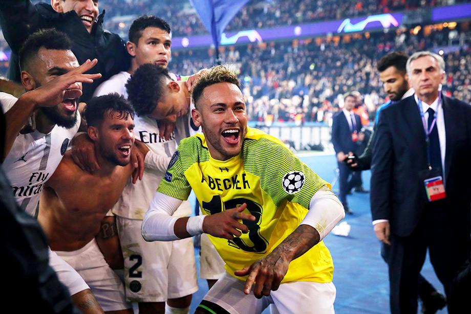 Неймар – лучший бразилец в истории. Пока в Лиге чемпионов