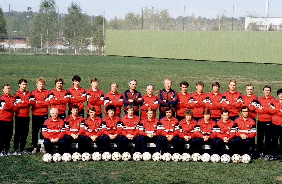 Сборная СССР перед ЧМ-1986