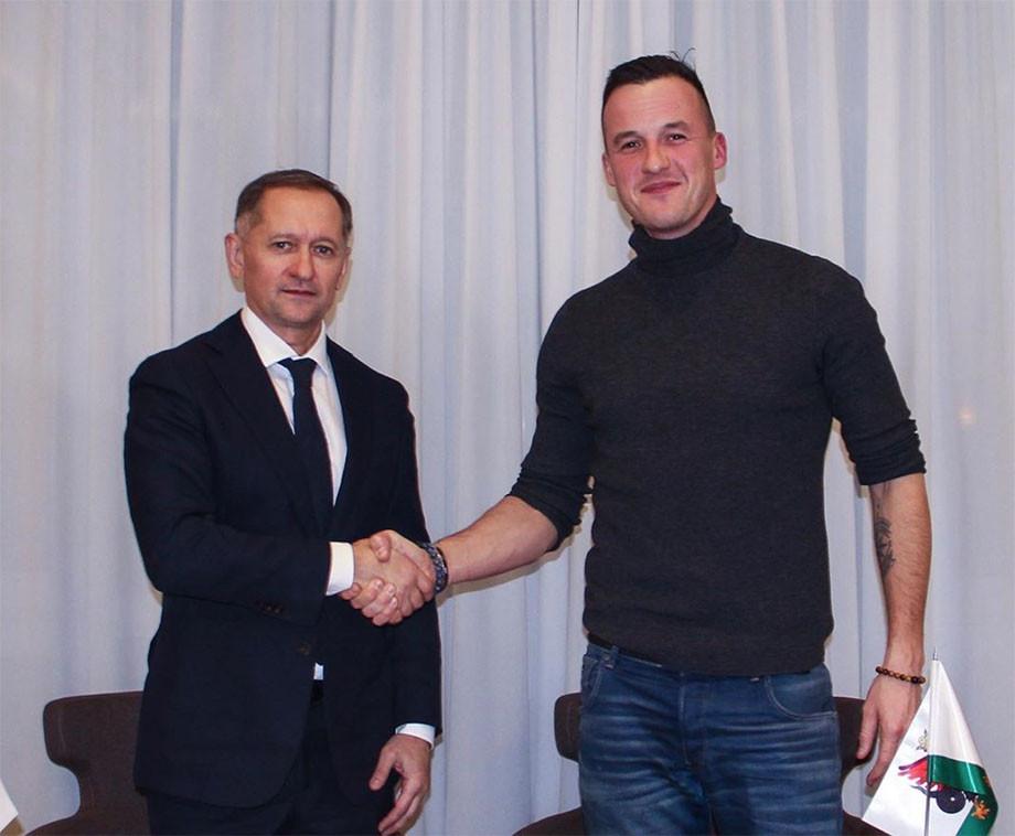 Рустем Сайманов и Олег Яровинский
