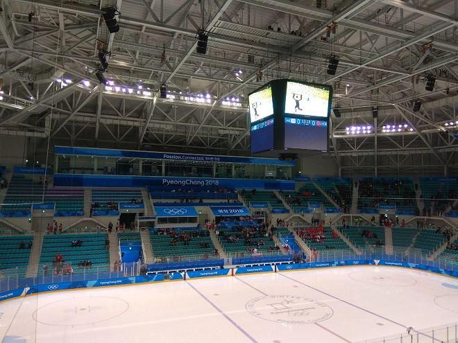 Арена за 15 минут до начала матча Россия — Норвегия