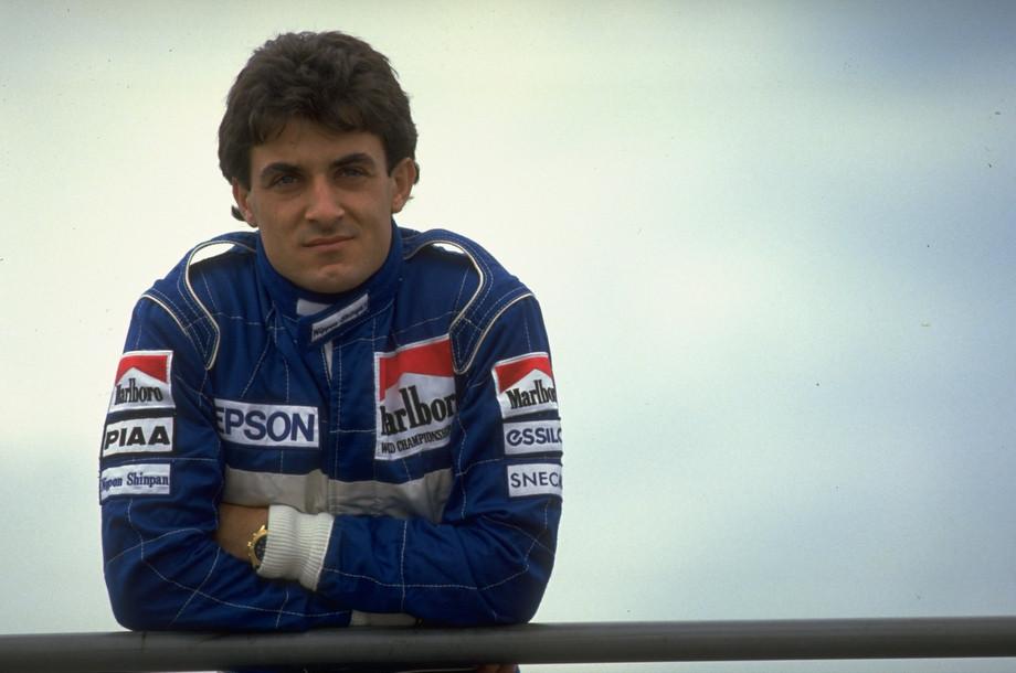 Жан Алези в 1990 году