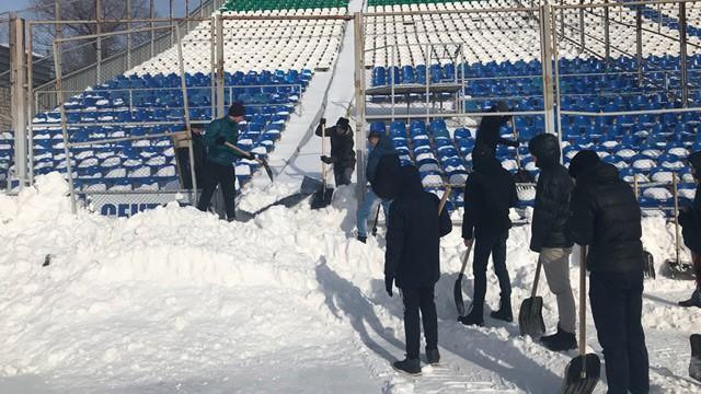 Матч «Ювентус»— «Аталанта» отменён из-за тяжёлых погодных условий