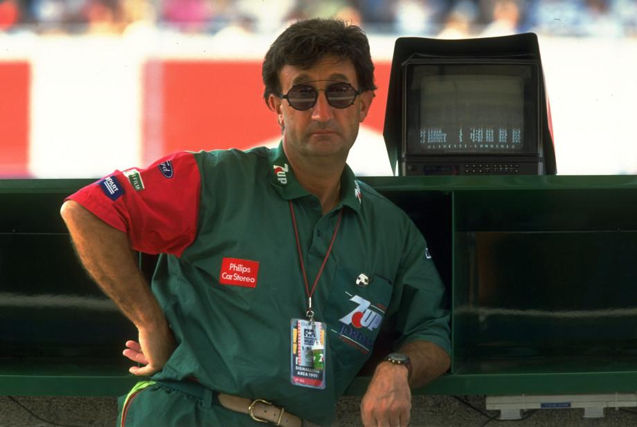 Эдди Джордан в 1991 году